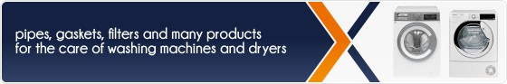 Accessories and spare parts for washing machines and dryers