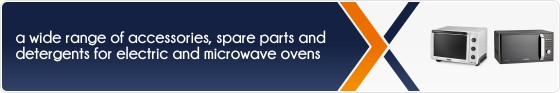 Accessories and spare parts for electric and steam ovens